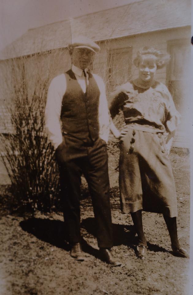 Bert Green and Marie Soderberg