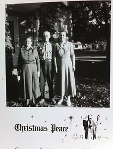 Joseph Sedy, Norma Sedy, and Vivian Sedy
