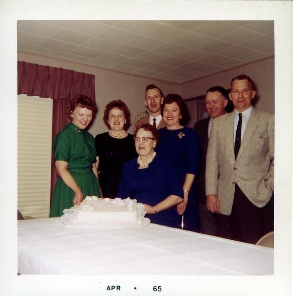 Akemann's on 70th Birthday