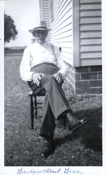 Grandpa Albert Grau (Mertis' maternal grandpa)