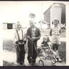 Gary, David, Judy, Diane (in stroller), Margie