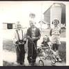 Gary, David, Judy, Diane (in stroller), Margie