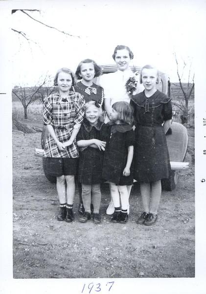 Mertis with girls