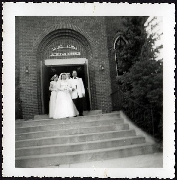 Arlene & Wally Riemers Wedding
