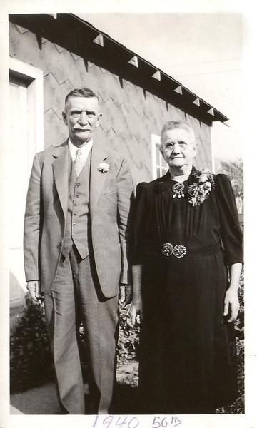 50th Anniversary Aunt Sophia & Uncle Wm Akemann