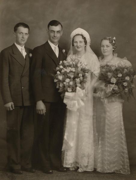 Emil & Lynn Yanke Wedding, Elmer Akemann