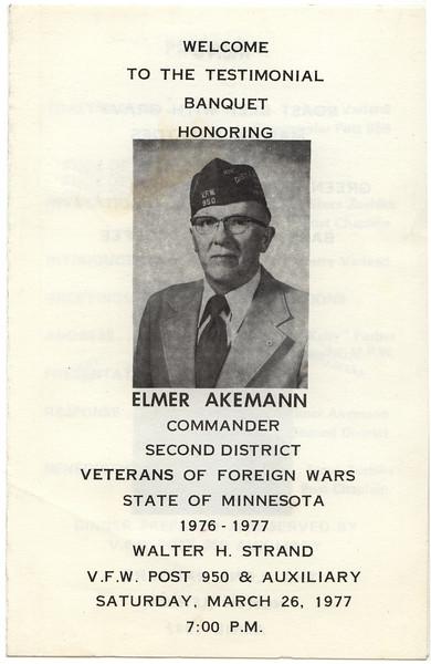 Elmer Akemann Commander