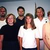Jim and Vickie Akemann family at Elmer & Sally's 50th