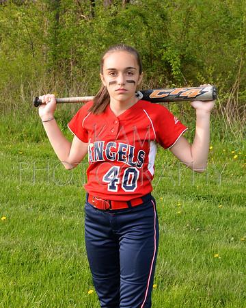 2014 Anchor Bay Angels 14U Girls Softball