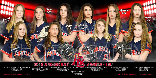 ANCHOR BAY ANGELS SOFTBALL