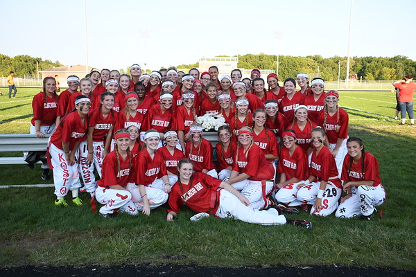 ANCHOR BAY HIGH SCHOOL POWDER PUFF GAME