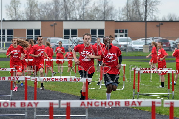 2015 Anchor Bay Middle School Track