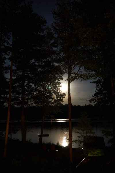 Cottage Moon Rise