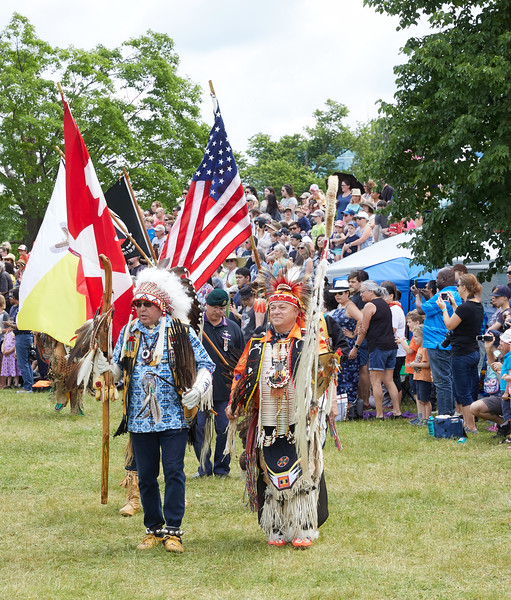 Ceremonial Entrance at the Indigenous Peoples Pow Wow