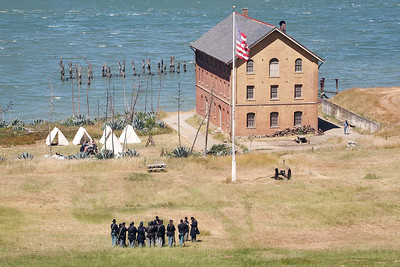 ANGEL ISLAND CIVIL WAR REENACTMENT 0018