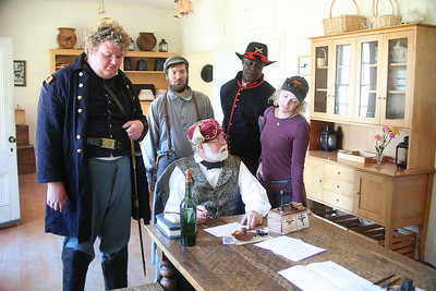 ANGEL ISLAND CIVIL WAR REENACTMENT 0012