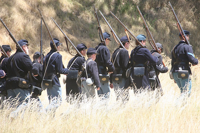 ANGEL ISLAND CIVIL WAR REENACTMENT 0078