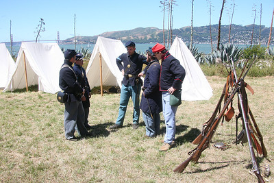 ANGEL ISLAND CIVIL WAR REENACTMENT 0032