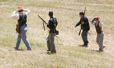ANGEL ISLAND CIVIL WAR REENACTMENT 0133