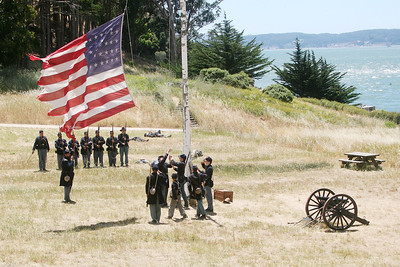 ANGEL ISLAND CIVIL WAR REENACTMENT 0158