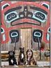 Ollie, Karly & Elliot @ Beaver Clan House - Ketchikan, Alaska 9-2012