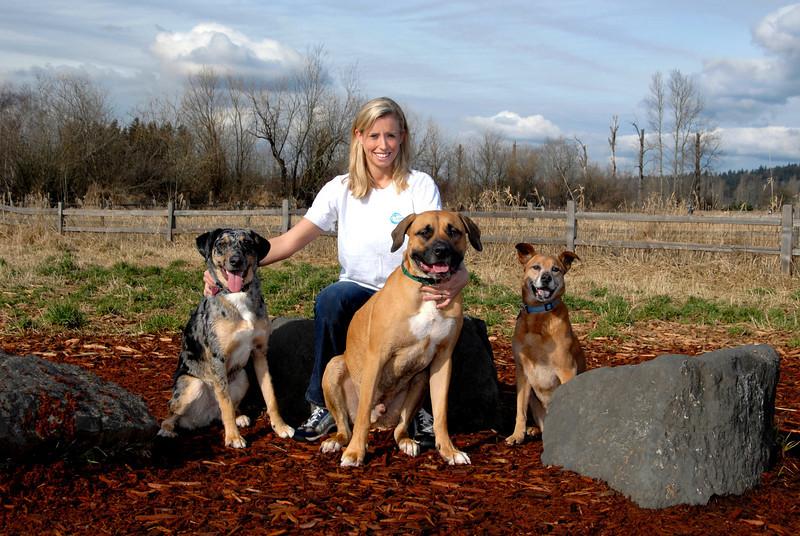 Foggy, Amanda, Benny & Molly - Sidekick Dog Training