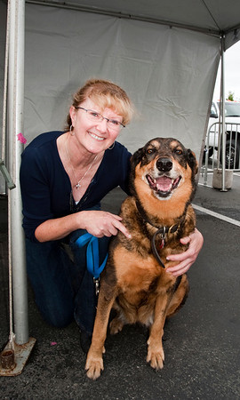 This fabulous lady came to adopt a large, older dog - where do we find more adopters like her?!?  <br /> <br /> Cool Canines & Fabulous Felines Adoption Fair - 9/26/2010