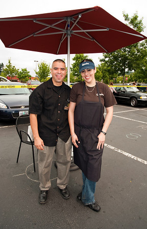 Qdoba crew @ the Woodinville Wags & Whiskers adoption fair 8-1-2010