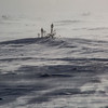 Wind blowing across tundra and frozen lakes dropped the temperatures to the extreme.