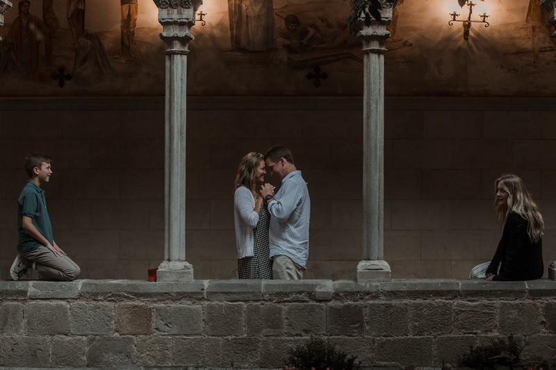 """<div style=""""text-align: center;padding: 0px 0px 0px 0px;font-size:13px; font-family:arapey; letter-spacing:2px; line-height: 23px;"""">Anniversary and vows renewal  <br> Barcelona, Spain </div>"""