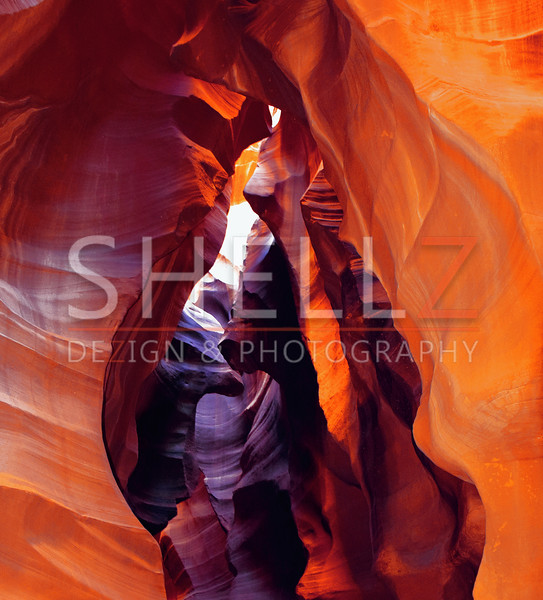 Fire from Within - Antelope Canyon, AZ