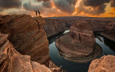 Selfy at Horseshoe Bend