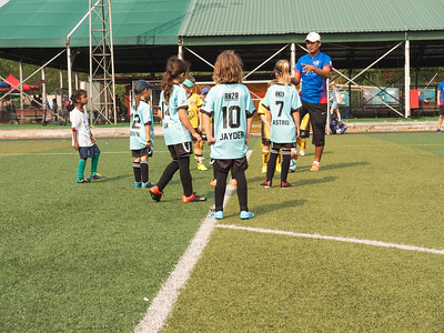 Friendly game with the Matildas.