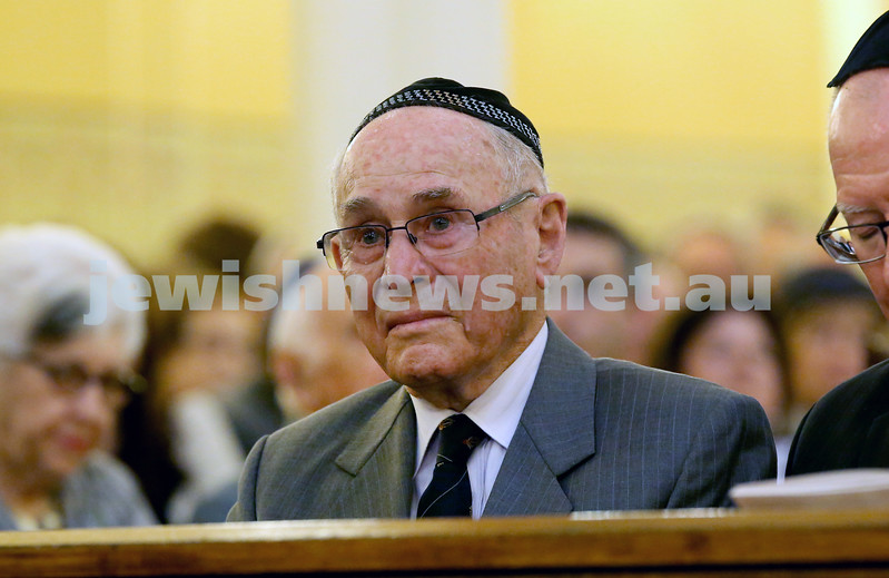 Anzac Centenary Commemorative Service of the NSW Jewish Community. Wesley Browne.