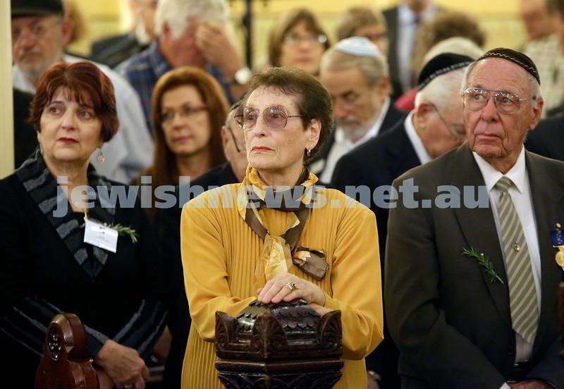 Anzac Centenary Commemorative Service of the NSW Jewish Community. Crowd shot.