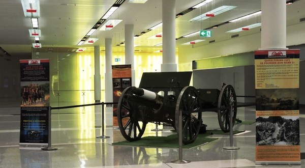 Canberra Airport - 18 Pounder