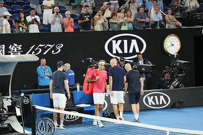 The Federer Entourage