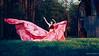 Pink Parachute Dress