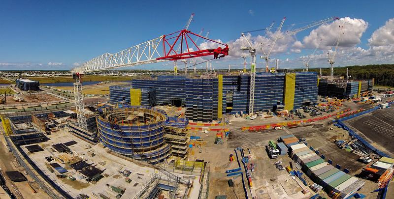 Sunshine Coast Hospital under construction