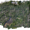 49 hectare site orthophoto compiled from 380 images<br /> Image size = 32000 x 24000 pixels