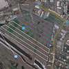 Flying a precise grid to acquire images for a 13 hectare construction site