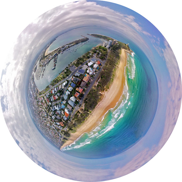 Little Planet picture of Mooloolaba & Point Cartwright