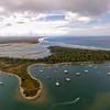 Noosa Spit, the Noosa River and Laguna Bay
