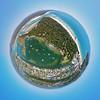 Laguna Bay and Noosa Heads little planet