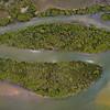 Orthophoto - mangroves in Pumicestone Passage - area = 9ha.<br /> Original image size = 19900 x 10400 pixels