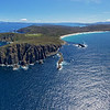 Cape Bruny - The end of the earth<br /> 65 images layered and stitched to make this panorama