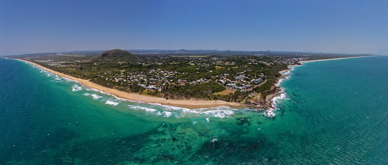 Point Arkwright and Mt. Coolum