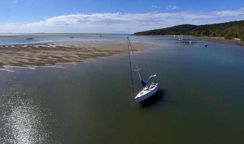 Low tide in Pancake Creek