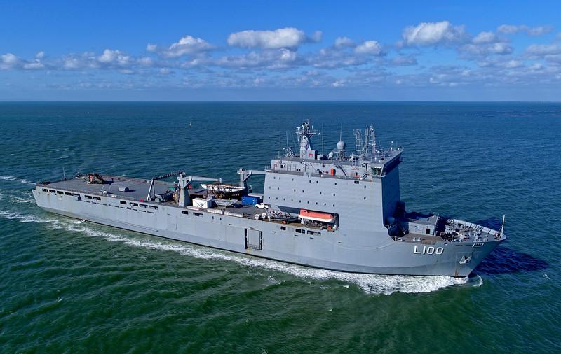 HMAS Choules - 177 metres