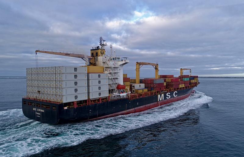 MSC Corinna - 210 metres